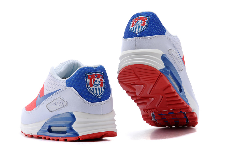 Nike Air Max World Cup American Edition Red Blue Grey