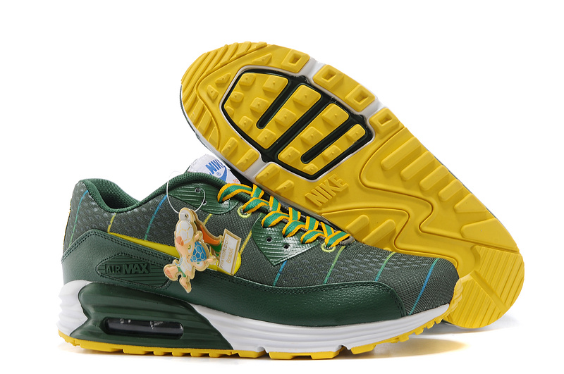 Nike Air Max World Cup Brazil Edition Green Yellow White
