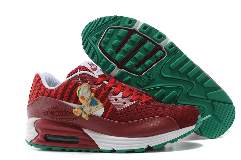 Nike Air Max World Cup Portugal Edition Wine Red Green