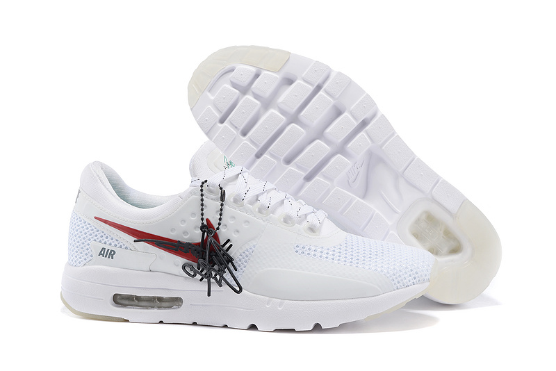 Nike Air Max Zero 87 II Midnight White Red Shoes