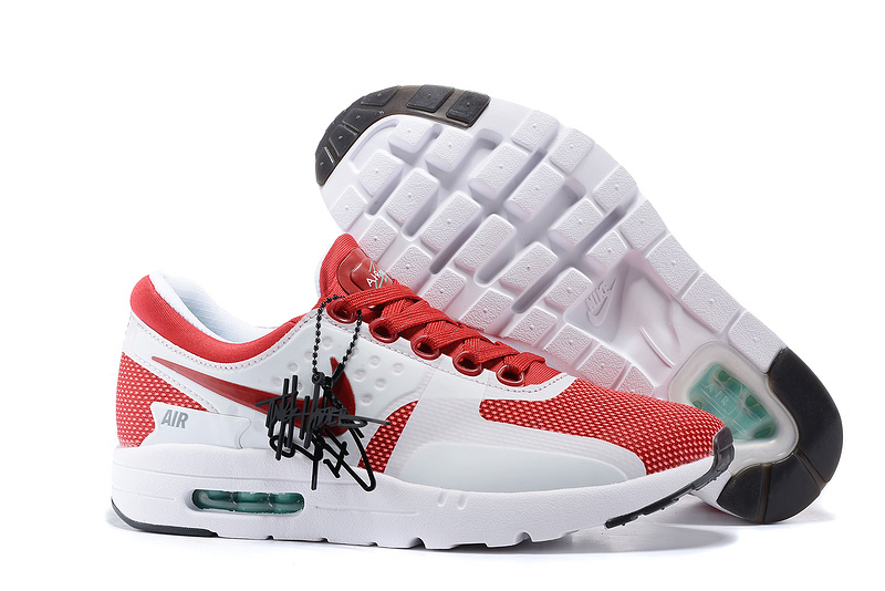 Nike Air Max Zero 87 II Red White Women Shoes
