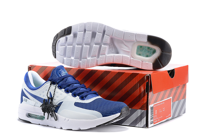 Nike Air Max Zero 87 II Royal Blue White Women Shoes