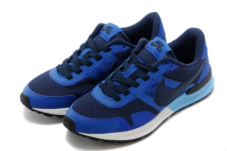 Nike Air Pegasus 8330 3M Running Shoes Black Blue White