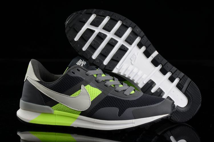 Nike Air Pegasus 8330 3M Running Shoes Black Green White