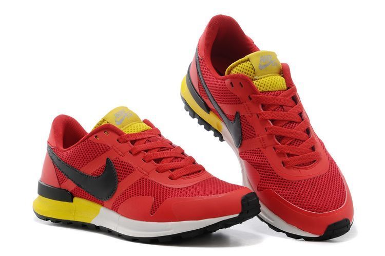 timeless design a97e8 75b99 Nike Air Pegasus 8330 3M Running Shoes Red Black Yellow White