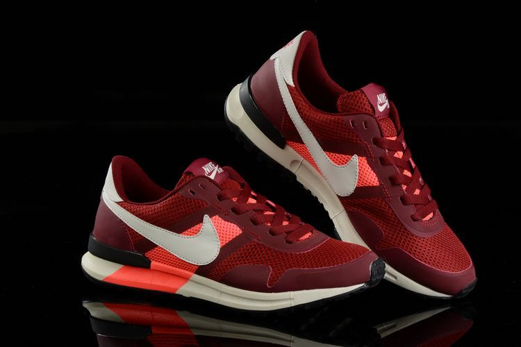 Nike Air Pegasus 8330 3M Running Shoes Wine Red White