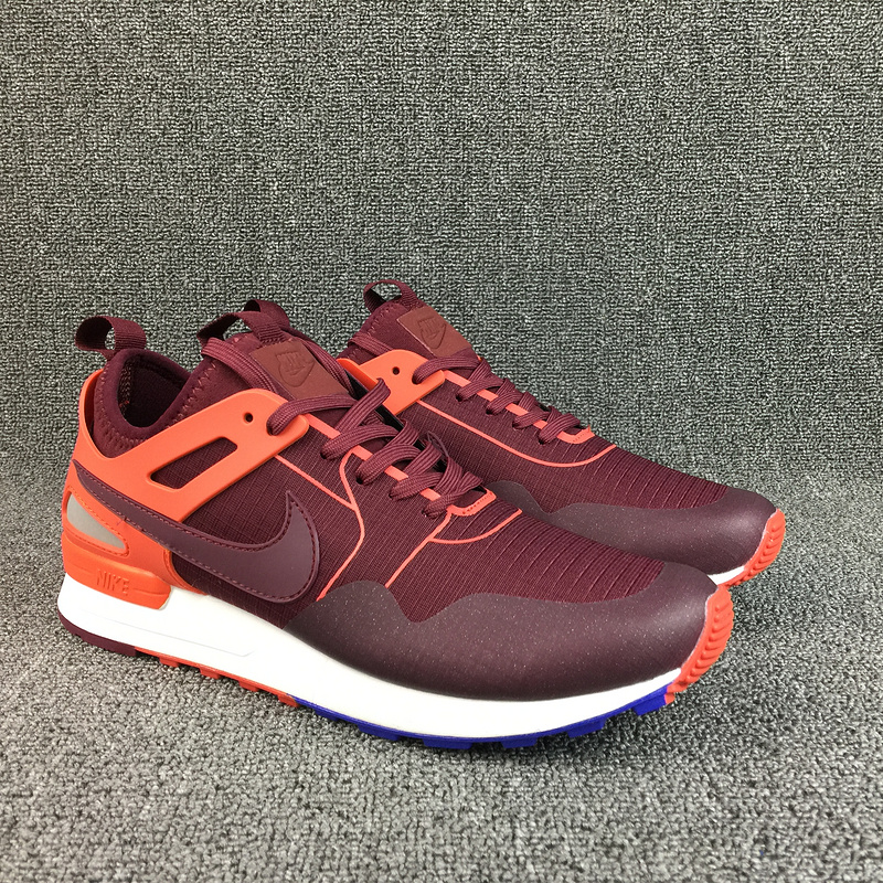 Nike Air Pegasus 89 Wine Red Orange Shoes