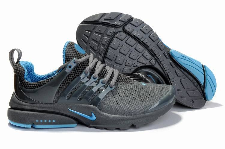New Nike Air Presto 2 Carve Grey Blue Sport Shoes With Big Holes