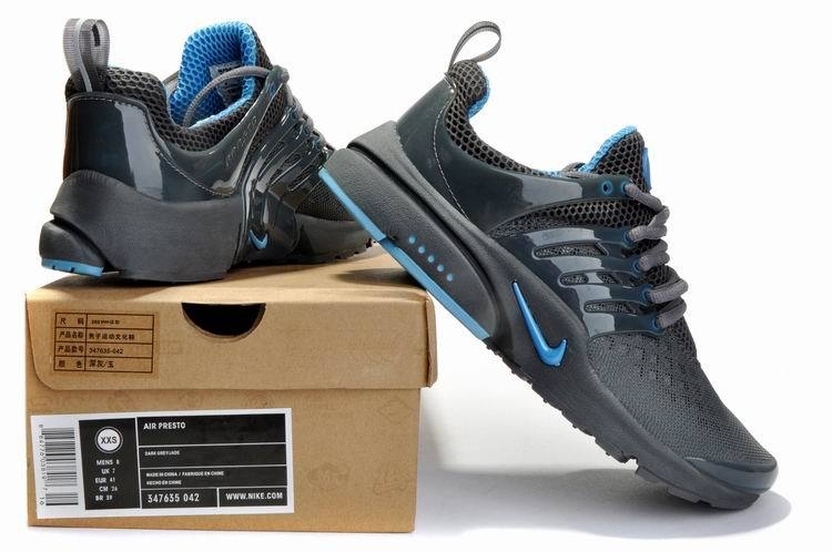 best cheap cf2ee 218a3 New Nike Air Presto 2 Carve All Grey Blue Sport Shoes With Big Holes ...