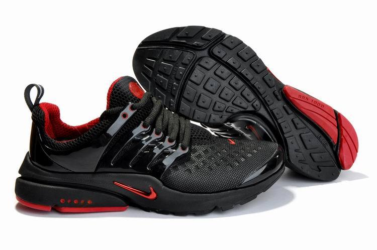 New Nike Air Presto 2 Carve Black Red Sport Shoes With Big Holes