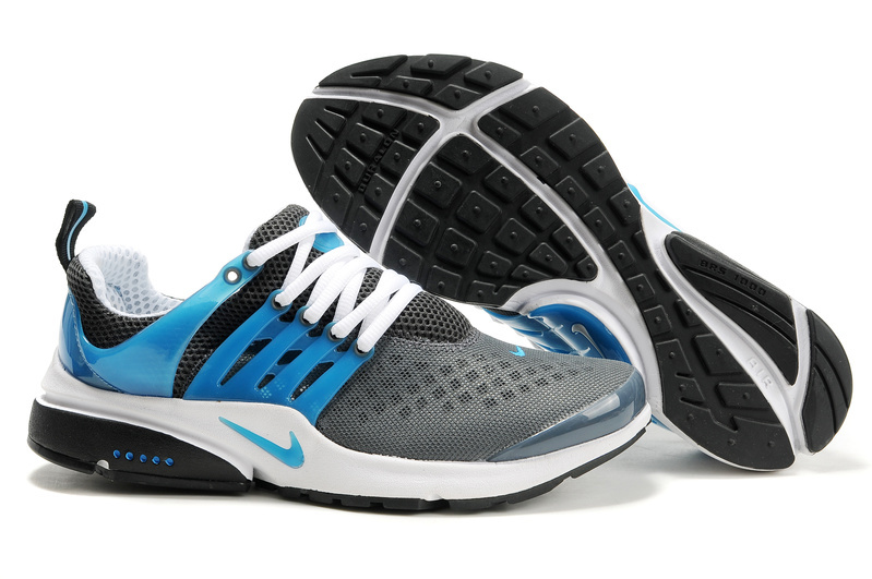 181565894839 New Nike Air Presto 2 Carve Dark Grey Blue White Sport Shoes With Big Holes