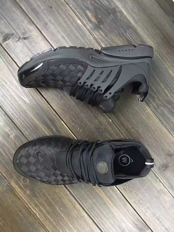 Latest Nike Air Presto Flyknit All Black Running Shoes