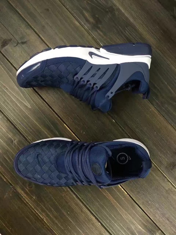 Latest Nike Air Presto Flyknit Blue White Running Shoes