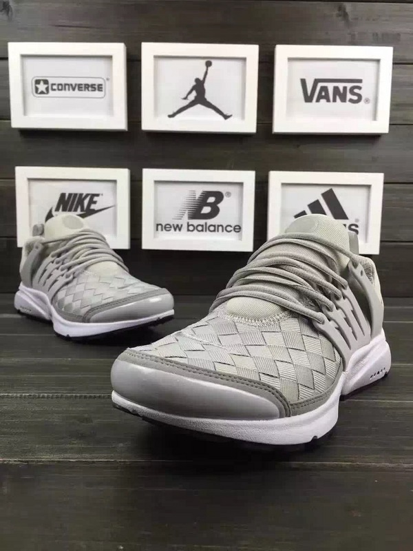 Latest Nike Air Presto Flyknit Grey White Running Shoes