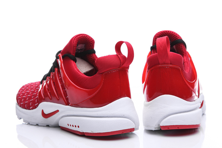 New Nike Air Presto Knit Red White Sport Shoes
