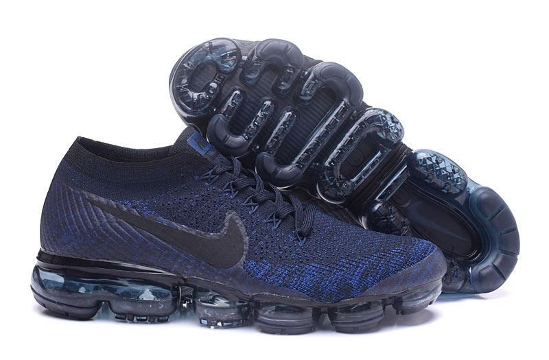 Nike Air VaporMax Flyknit Blue Black Shoes