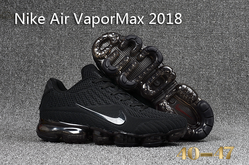 Nike Air VaporMax 2018 All Black Shoes