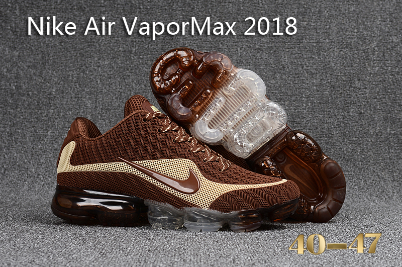 Nike Air VaporMax 2018 Brown Beign Shoes