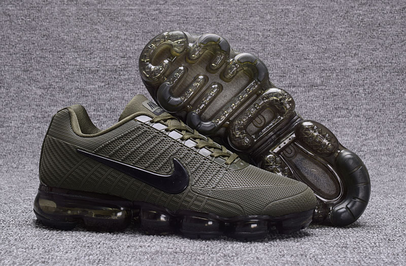 Nike Air VaporMax Flyknit Army Green Shoes
