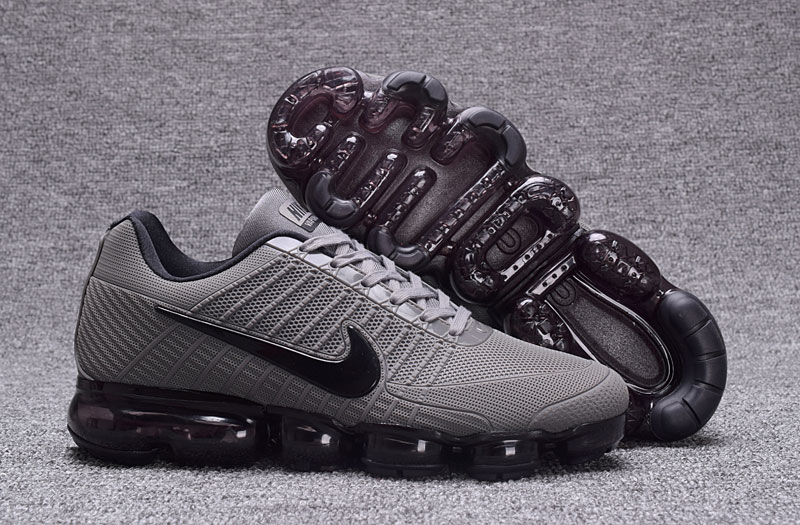 Nike Air VaporMax Flyknit Carbon Grey Black Shoes