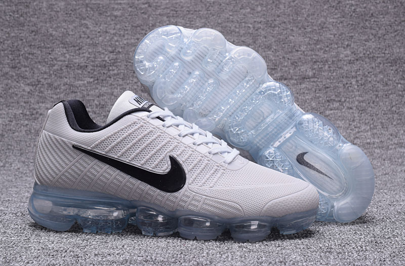 Nike Air VaporMax Flyknit White Ice Blue Shoes