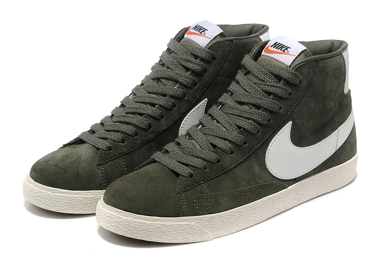 Nike Blazer 1 High Deep Green Shoes