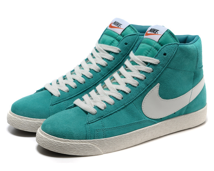 Nike Blazer 1 High Green White Men's Shoes