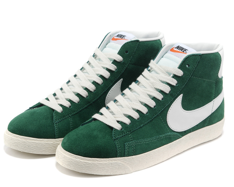 Nike Blazer 1 High Green White Shoes