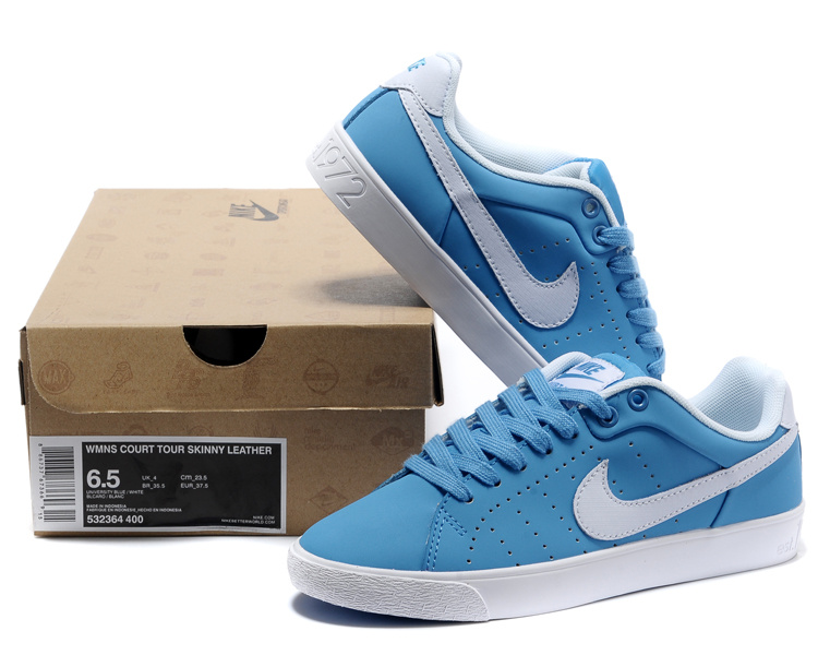 differently bd5ca 50040 Nike Blazer 1972 Low Baby Blue Shoes