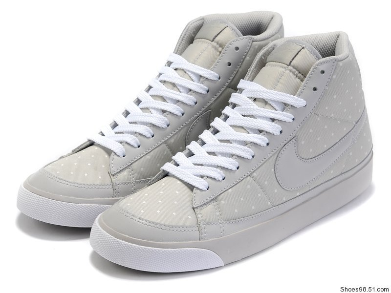 Nike Blazer 2 High Grey Shoes