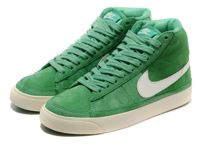 Nike Blazer 2 High Suede 1689 Green Shoes