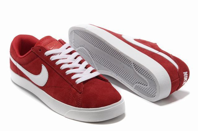 Nike Blazer 3 Low Red White Mens Shoes
