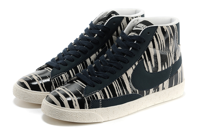 sale retailer be2d6 ca940 Nike Blazer Zebra Stripe Black White Men s Shoes