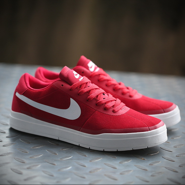 Nike Bruin SB HyperFeel Red White Shoes