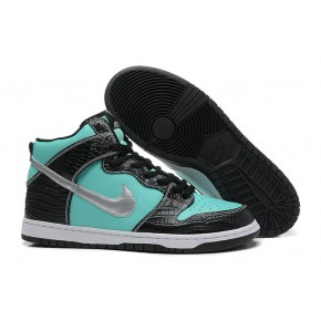Nike Dunk High SB Blue Black Shoes