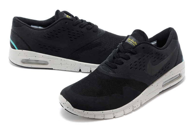Nike Eric Koston 2 Max Shoes Black White