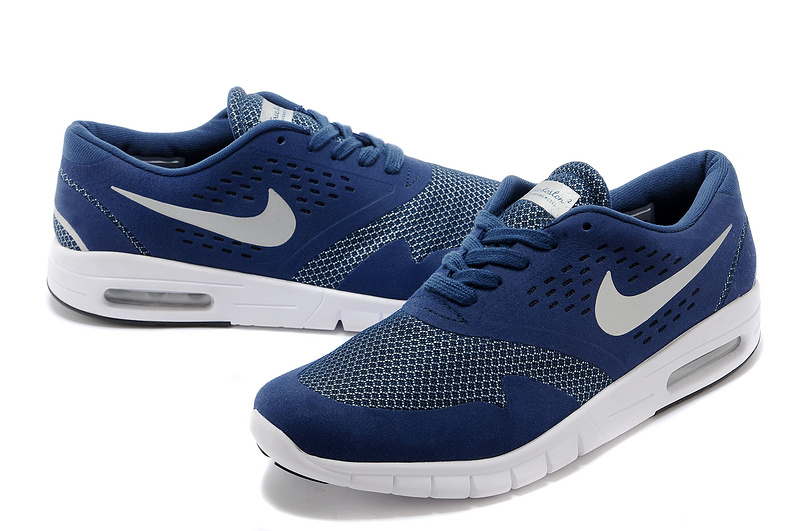 lowest price 51d63 820b4 Nike Eric Koston 2 Max Shoes Blue White