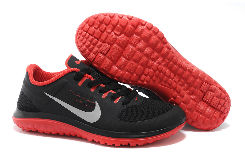 Nike FS Lite Run Black Red Running Shoes
