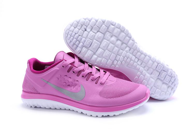premium selection 53887 79909 Nike FS Lite Run Shoes Pink Grey For Women