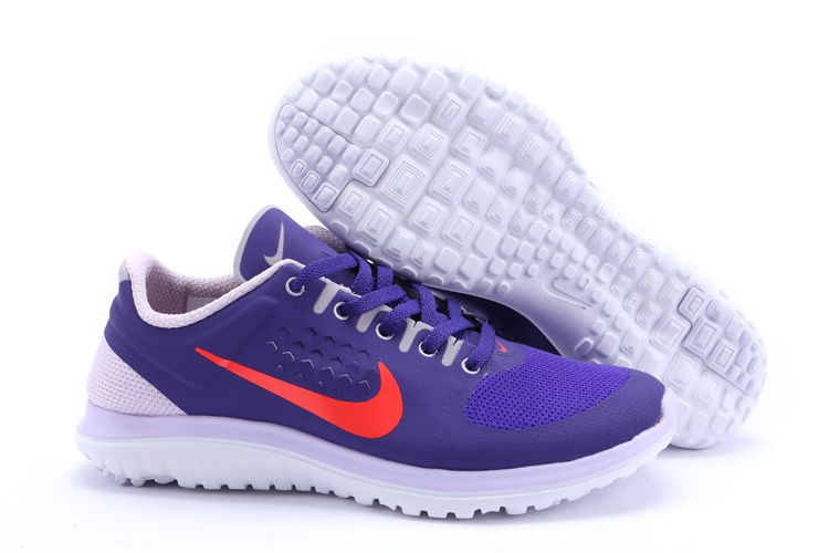Nike FS Lite Run Shoes Purple White For Women