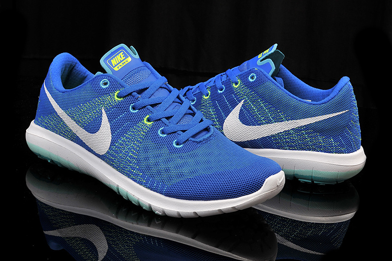 nike flex run 2015 mens running shoes blue