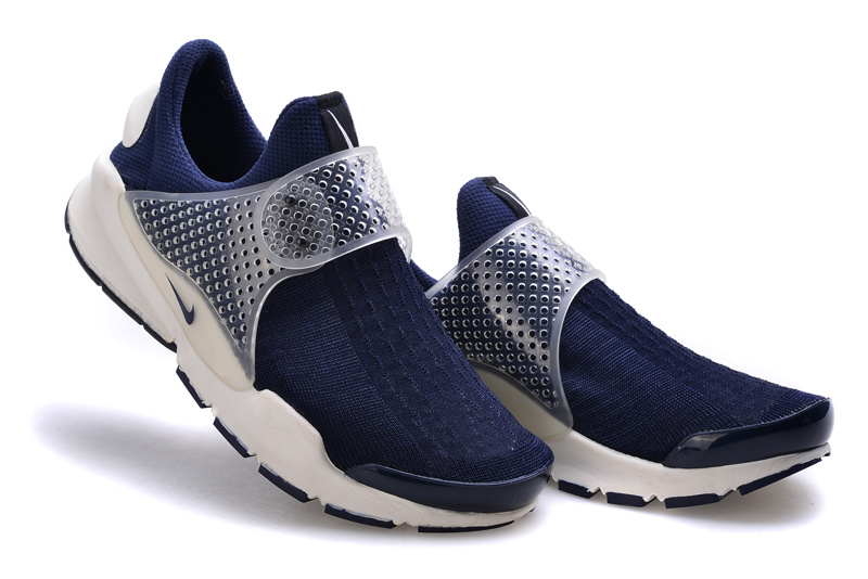Nike Fragment Design Sock Dart SP Deep Blue White Shoes