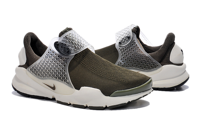 Nike Fragment Design Sock Dart SP Grey White Shoes