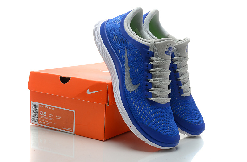 Nike Free 3.0 V5 Blue Grey Shoes