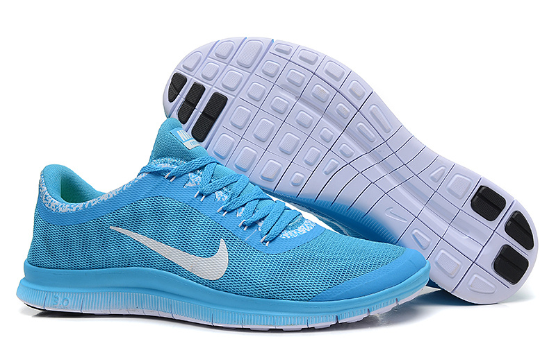 Nike Free 3.0 V5 EXT Baby Blue White Shoes