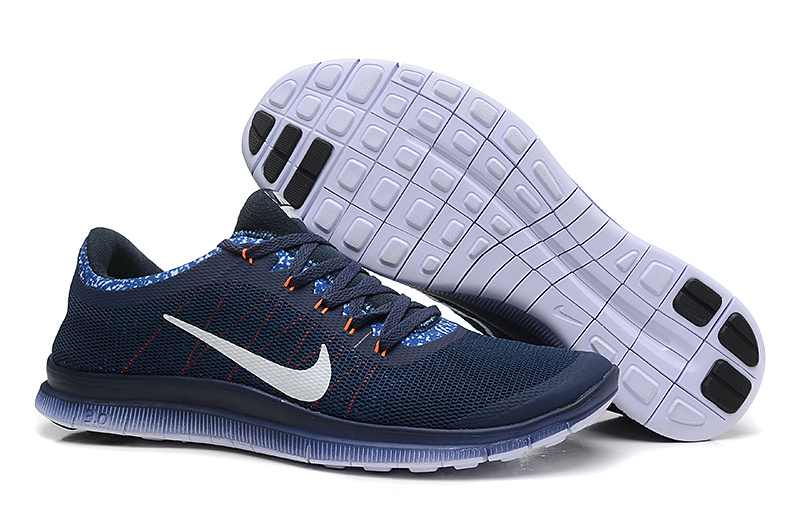 Nike Free 3.0 V5 EXT Dark Blue White Shoes