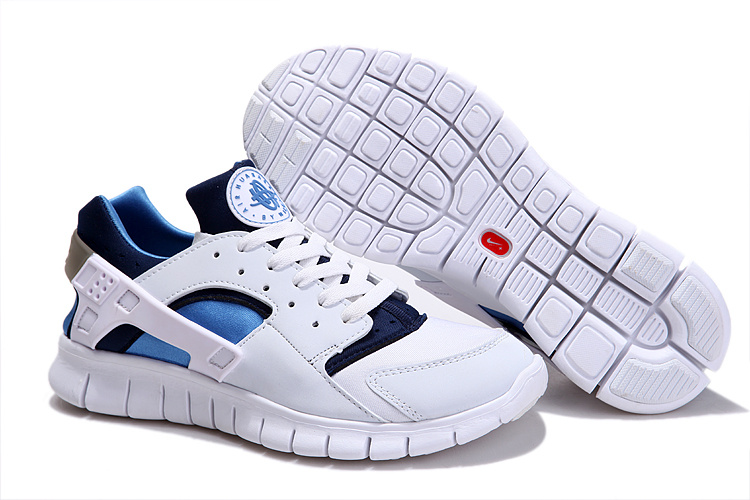 Nike Free 4.0 London Olympic White Blue Running Shoes