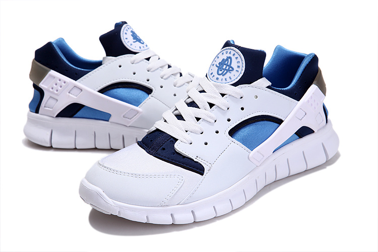 Nike Free 40 London Olympic White Blue Running Shoes