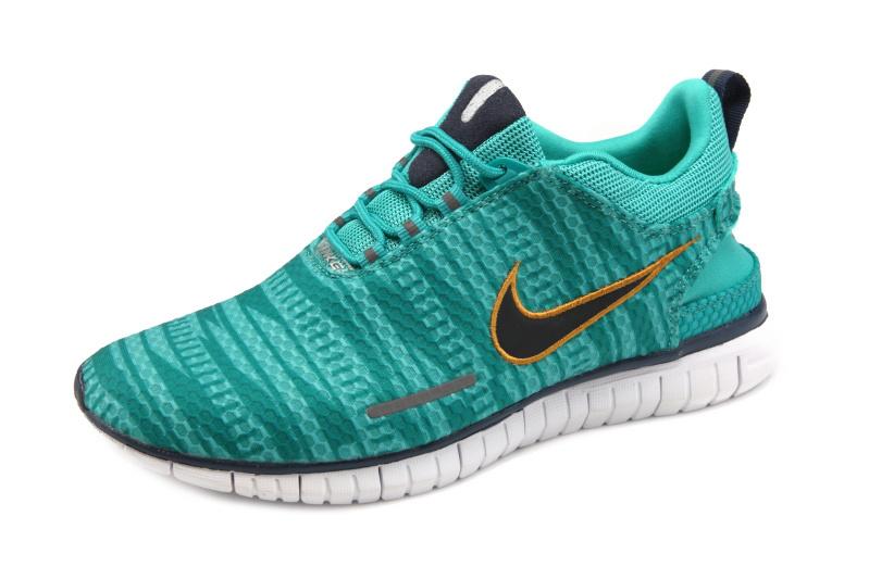 promo code ec9a5 335f1 Nike Free OG 14 BR Green Gold Running Shoes
