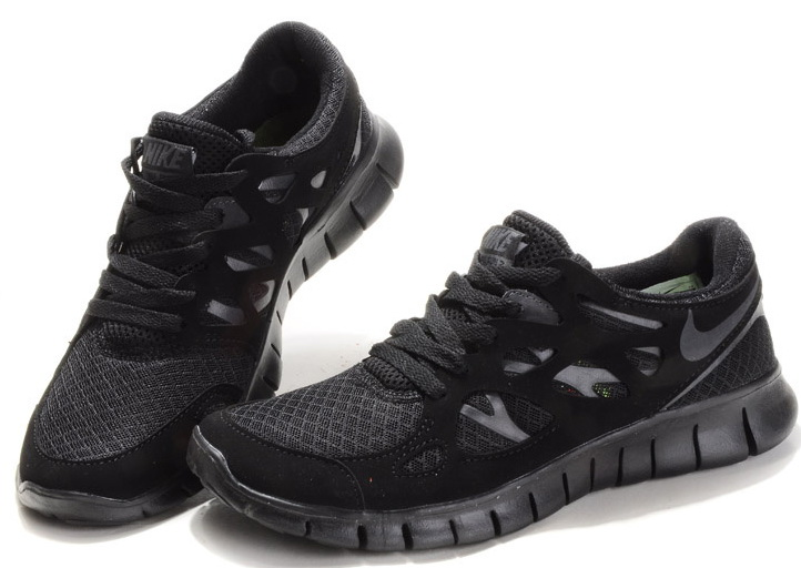 Nike Free 20 Running Shoes All Black